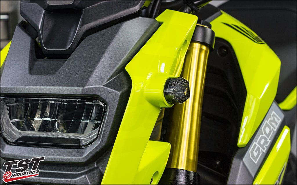 Best Honda Grom Accessories: Flush Mount Turn Signals - Full