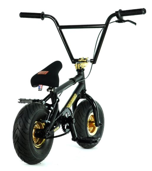 Black Fatboy BMX Top Load Stem